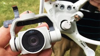 I Crashed My DJI Phantom 4 Drone