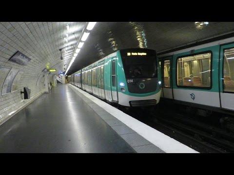 [Paris] MF01 M2 - Porte Dauphine (terminus)