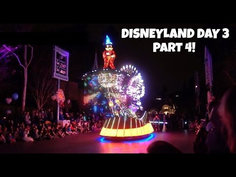 DISNEYLAND VACATION January 2016   Day 3 Part 4: Paint the Night, Fireworks, and Blue Bayou!