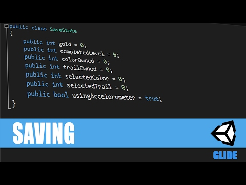 Unity Mobile Game - Saving - 5 - Android & IOS [C#][Tutorial]