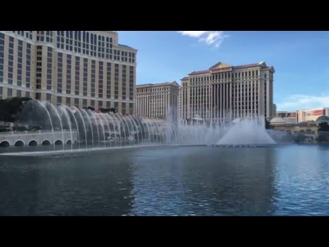 Bellagio Fountain in Las Vegas.  #Bellagiofountain