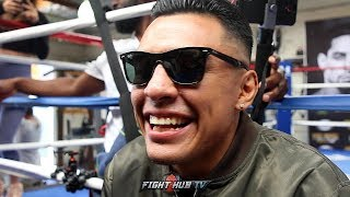 "ADRIAN GRANADOS ""I GOTTA DOMINATE & TAKE FIGHT AWAY FROM DANNY! WE SMOKIN PHILLY ON 4/20!"""