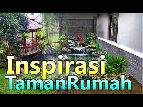 inpirasi taman rumah sederhana dan minimalis - youtube