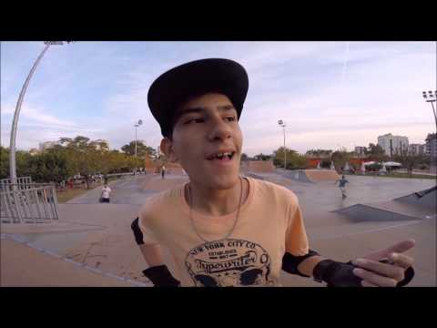 Matin Khanjari Mofraad in the Skate Park by Lizard Sports Academy