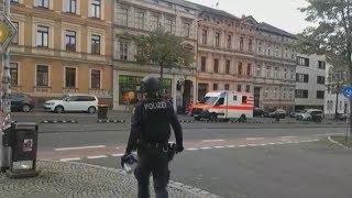 Schüsse in Halle mit mehreren Toten - Erste Festnahme eines Verdächtigen