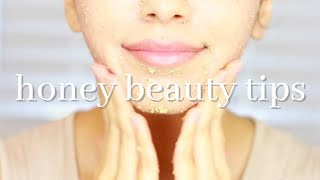 5 HONEY BEAUTY TIPS
