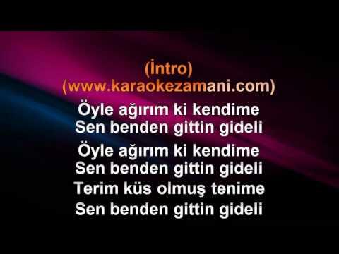 Edip Akbayram   Gittin Gideli   1994 TÜRKÇE KARAOKE