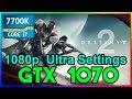 Destiny 2 (1080p) Ultra Settings | GTX 1070 | i7 7700k