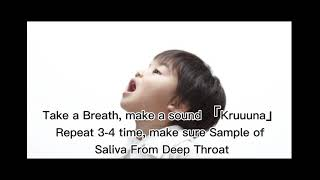 Tigsun Covid Saliva Home use Test kit