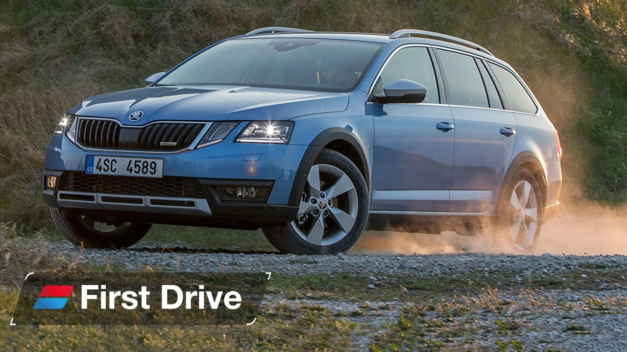 skoda octavia scout 2017 first drive youtube. Black Bedroom Furniture Sets. Home Design Ideas