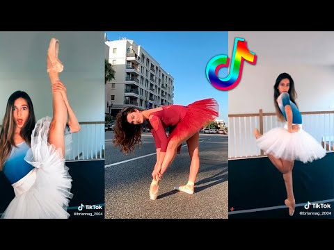 Ballet TikTok Videos Compilation + Little Ballet Challenge 2021 #balerina