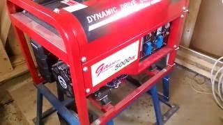 видео Бензогенератор 5 кВт: какой лучше брать?