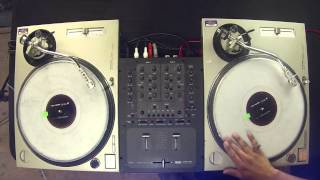 learn to dj tutorial combining basic scratches to form advanced scratches dj as one