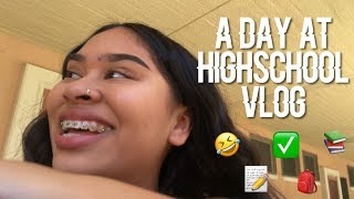 HIGH SCHOOL VLOG WITH SOME FRIENDS