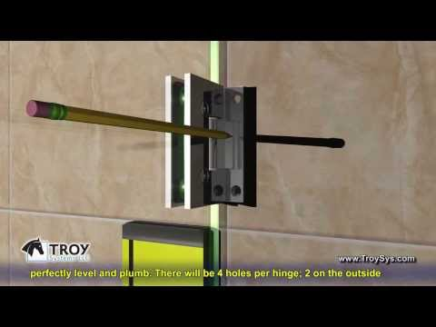 How to Install a Troy Systems Single Shower Door (Installation Instructions)