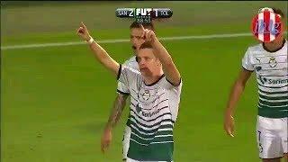 Santos vs Toluca 2-1 Resumen Final Ida Clausura 2018 Liga MX