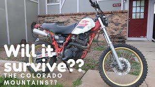 will this dirt bike blow in the mountains??
