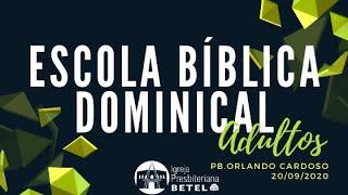 Aula 02 - Nosso compromisso como membros da igreja - Profº Orlando #BetelnoLar