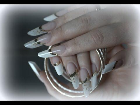 Russische Mandel French Design Meine Messenagel Beauty