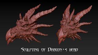 Sculpting of Dragon