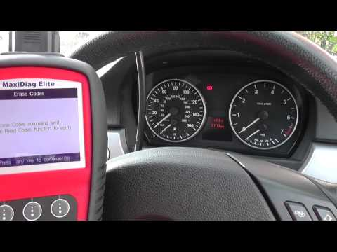 Autel MD702 MD802 removes BMW E90 airbag light