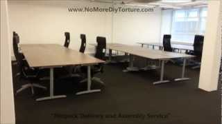 Ikea Office Furniture Galant Tables V2