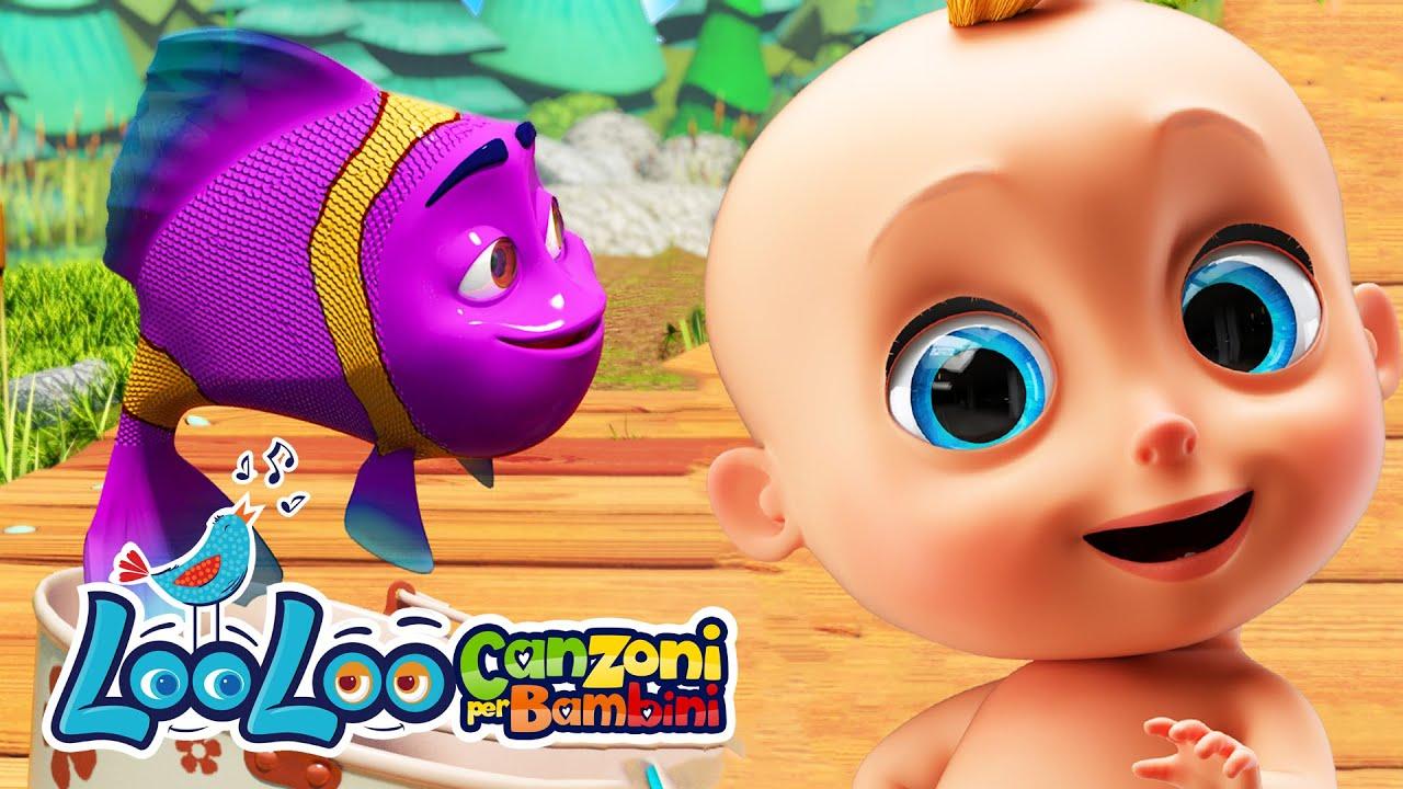 Una volta ho preso un pesce vivo - Contiamo con i 10 pesci 🐟 Canzoni educative di LooLoo Bambini