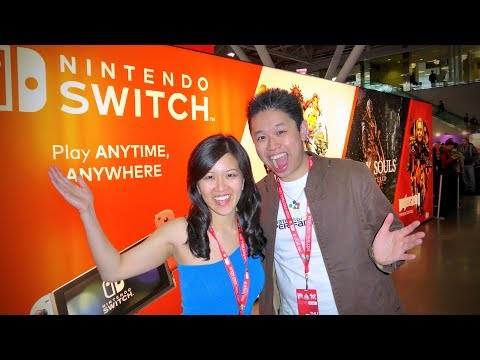 TONS OF UPCOMING GAMES! [NINTENDO SWITCH] PAX East 2018