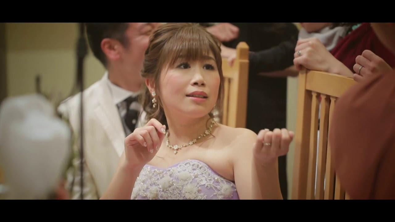 大阪 アンファンス 結婚式 エンドロール