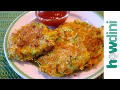 How to make veggie pancakes youtube how to make veggie pancakes ccuart Images