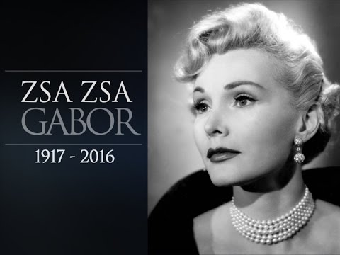 Zsa Zsa Gabor  Funeral  [Famed Hollywood Socialite & Actress Dies Aged 99]
