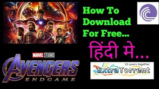 How To Download Avenger Endgame Hindi Dubbed Movie For Free