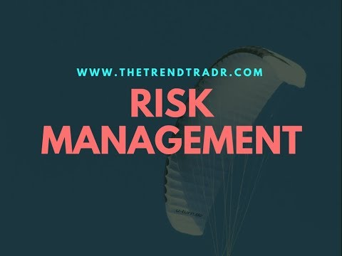 Simple Risk Management in Trading Financial Markets