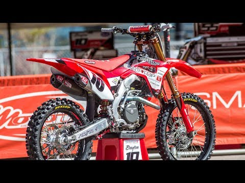 Inside Justin Brayton's Factory Smart Top/MCR Honda CRF450 - Motocross Action Magazine