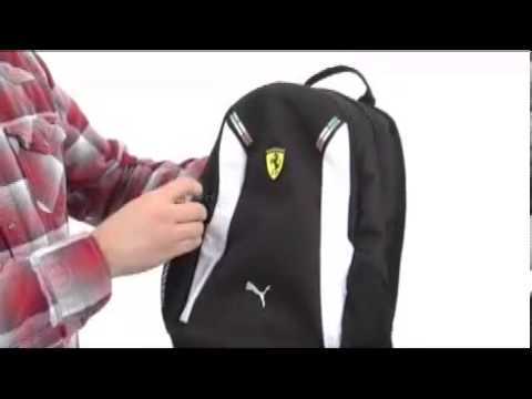 ULTIMATE REVIEW OF PUMA FERRARI REPLICA BACKPACK (rosso corsa .