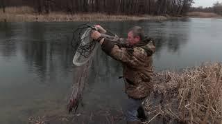 Тест драйв новой кастинговой сети изготовленной на заказ Рыбалка от Игоря