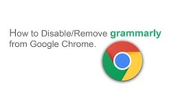 Disable/Remove grammarly from Google Chrome.