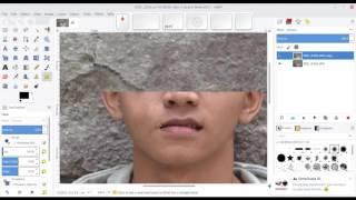 [TUTORIAL GIMP] Memperbaiki Foto (Photo Healing) Menggunakan GIMP - timelapse