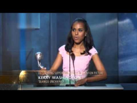 Kerry Washington - Outstanding Supporting Actress in a Motion Picture (Django Unchained)