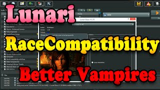Mod Organizer: Lunari, RaceCompatibility, Better Vampires Installation Guide