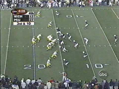 1999: Michigan 31 Penn State 27 (PART 2)