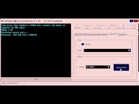 Unlock Vodafone Chat 655w Con GB-Key 1.48 - Unlockeasy.com