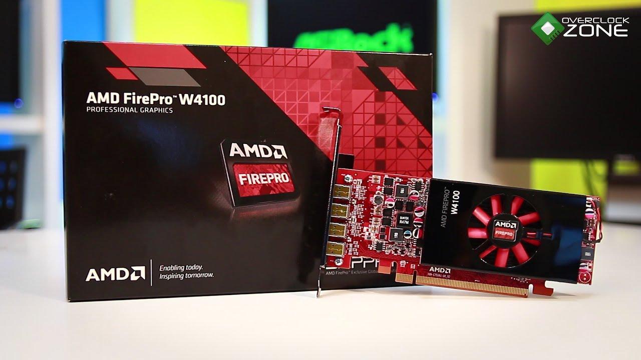 OverclockZone TV EP 634 : AMD Firepro W4100 (HD)