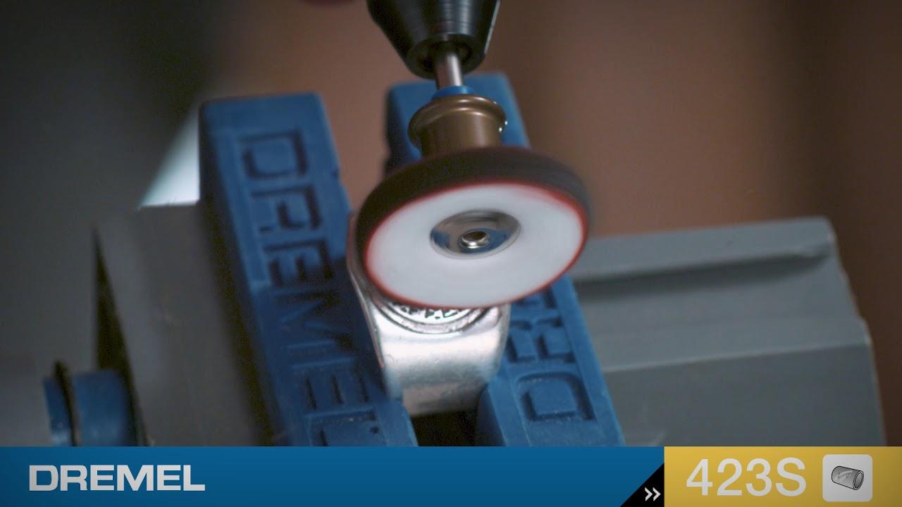 DREMELEZ 423 S SpeedClic Polierscheibe Textilpolierscheibe NEU und OVP