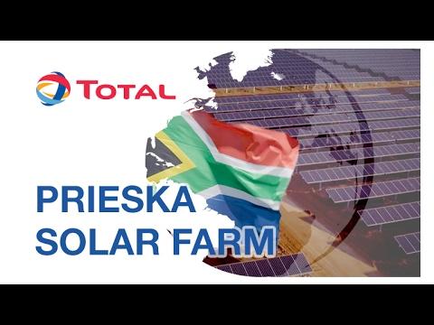 200,000 Solar Panels, 75 Megawatts: Visiting Prieska Solar Farm | Total