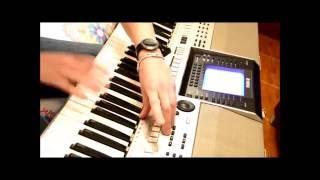 ليل ورعد وبرد وريح - وائل كفوري - Yamaha PSR-OR700