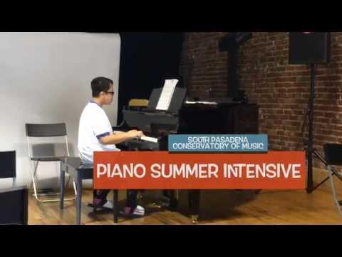 Piano Summer Intensive at South Pasadena Music Conservatory