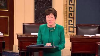 Senator Susan Collins Pays Tribute to Senator Olympia Snowe