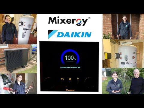 Installation of Daikin
