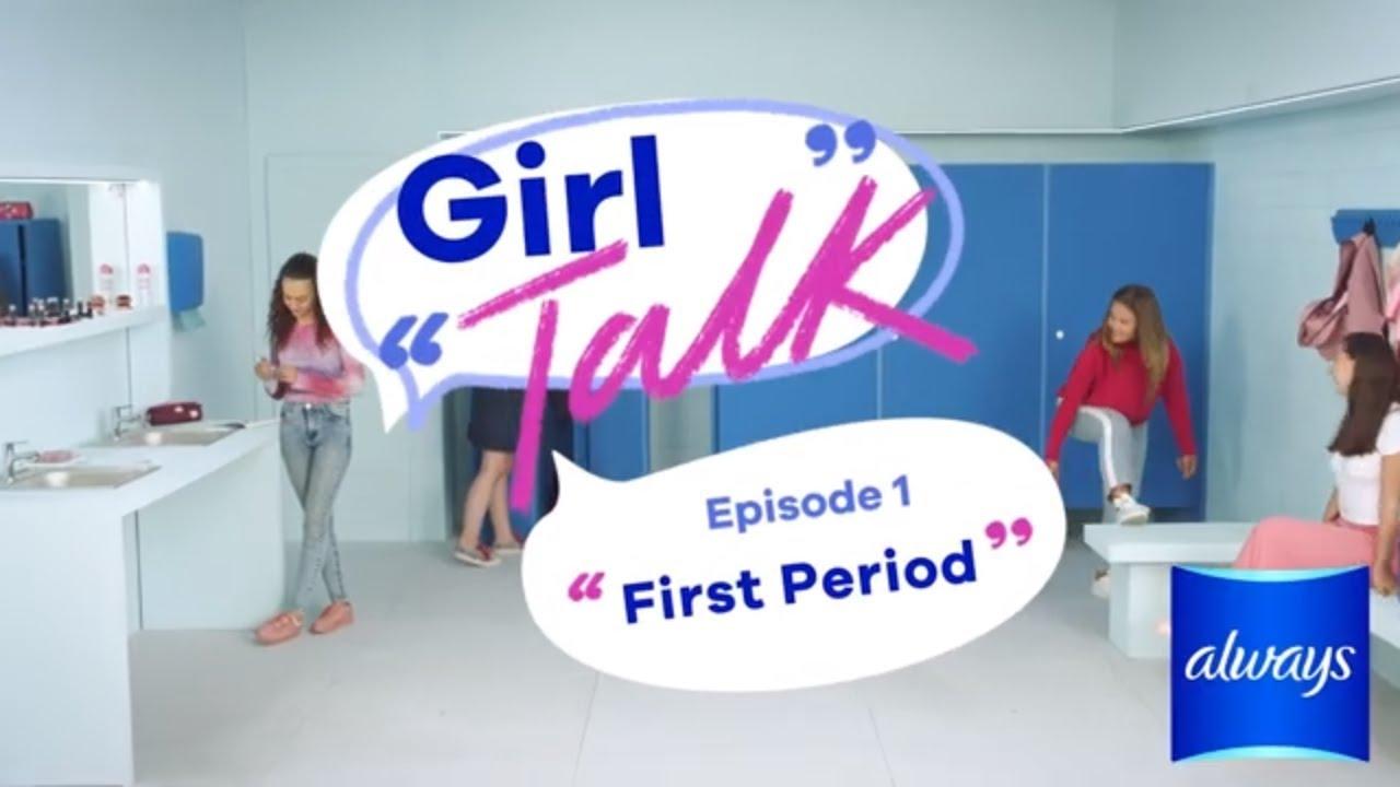 First period symptoms